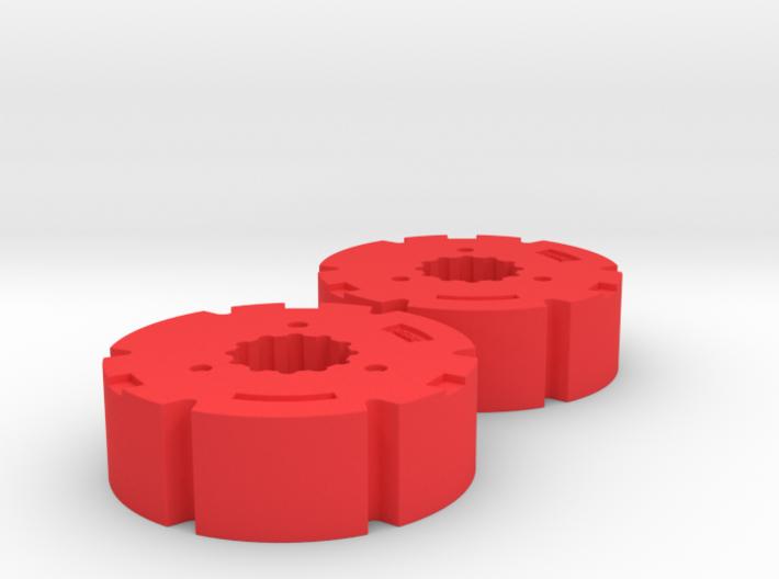 1:32 Fendt 1000 Radgewichte - Wellig 3d printed