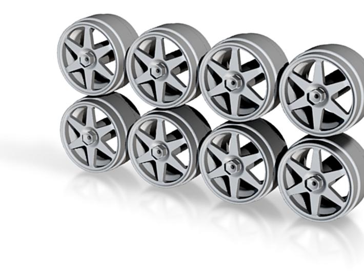 190E Speedline 9 Hot Wheels Rims 3d printed
