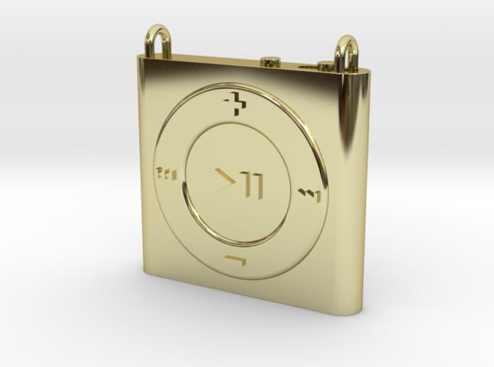 Pendant iPod Shuffle 3d printed
