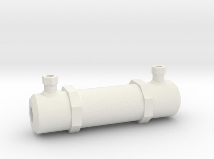 Scale Hydraulic Ram Assist 1:10 fits Gmade Sawback 3d printed