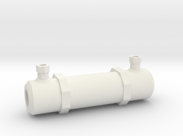Scale Hydraulic Ram Assist 1:10 fits Axial SCX10 3d printed
