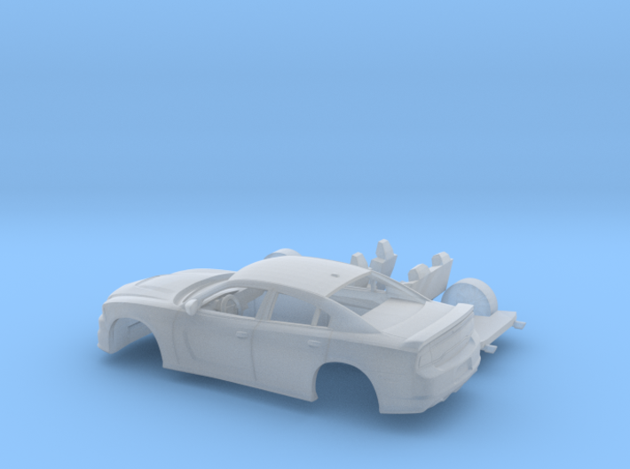 1/87 2012 Dodge Charger Kit 3d printed