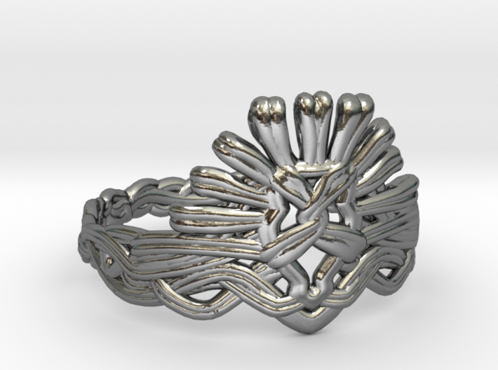 Cersei's Crown Ring 3d printed