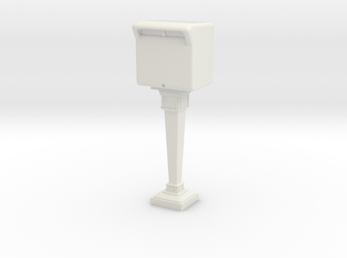 1/60 French Post Box / boîte postale n°3 3d printed