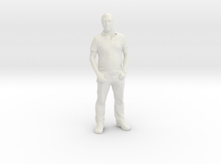 Printle F Ben Affleck - 1/18 - wob 3d printed