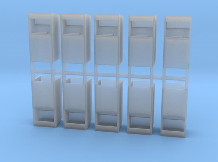 Altkleidercontainer 10er Set 1:120 TT 3d printed