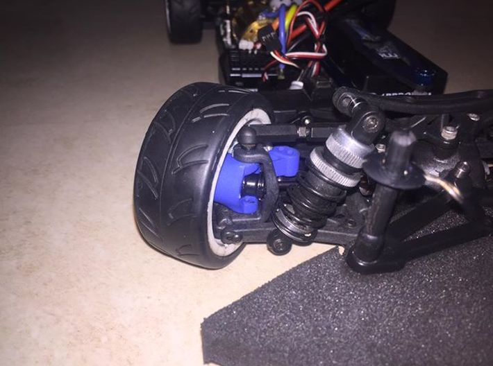 TC4 Steering Hub for DCV/DCJ Conversion 3d printed