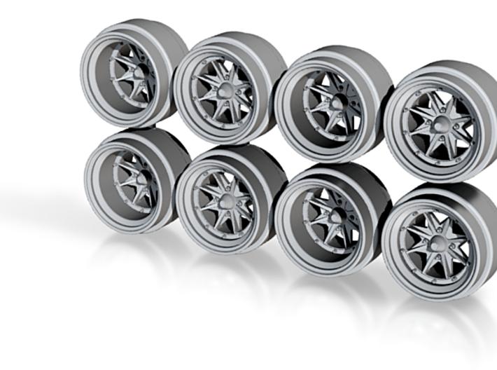 ES Casablanca 8-6 Hot Wheels Rims 3d printed