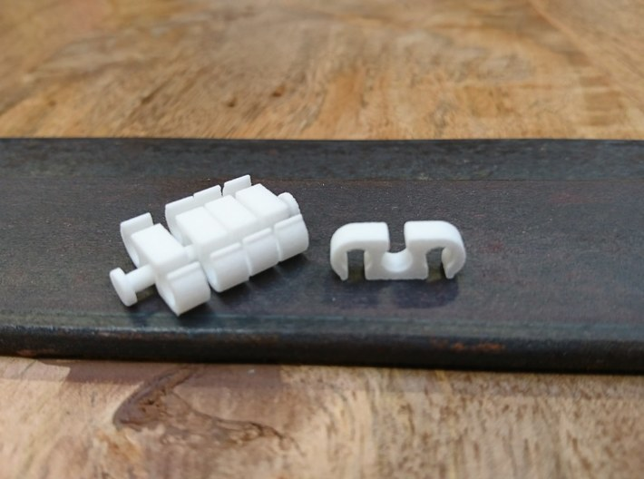 5x Wireclip 12AWG (for 3) 3d printed
