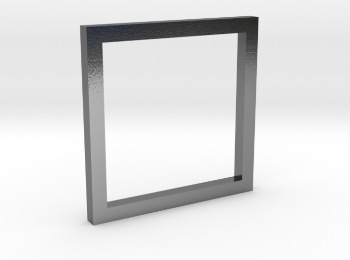 Simple Square Ring 3d printed