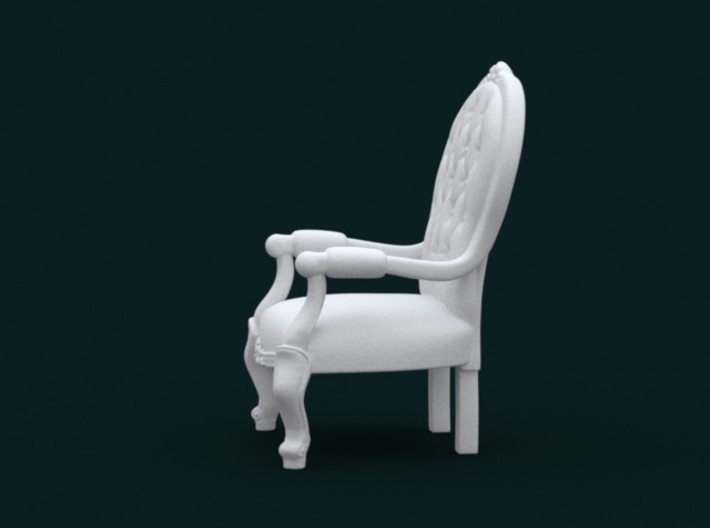 1:10 Scale Model - ArmChair 02 3d printed