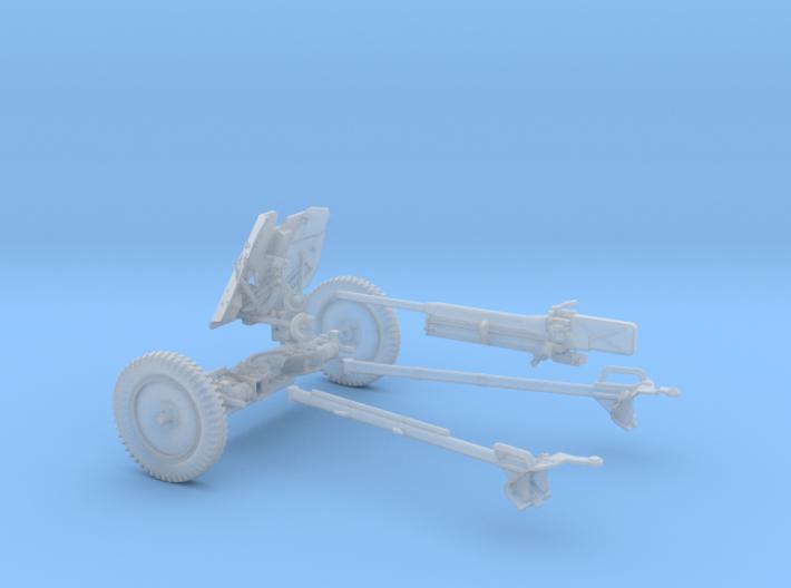 PAK 36 1:30 scale 3d printed