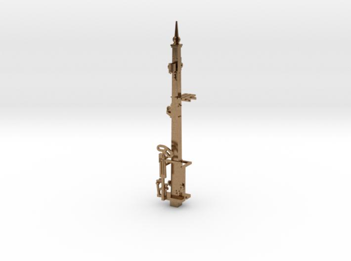 HO NSWR LQ Signal 16 ft Post + Parts 3d printed