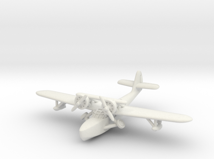 Douglas Dolphin 1/285 6mm (In flight) 3d printed