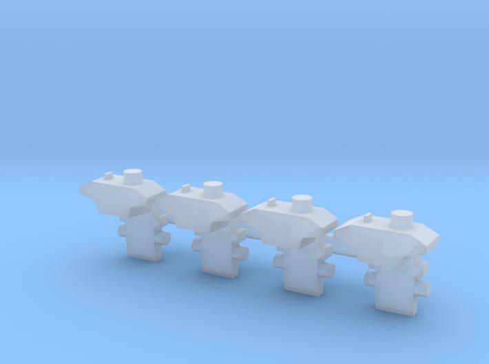 Immitatiekoppeling Koploper NS Minitrix  3d printed