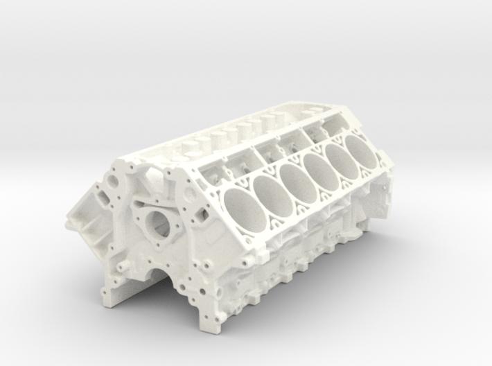 LS3 1/24 V12 block 3d printed