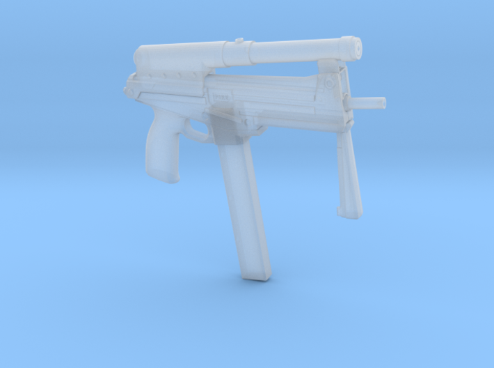 1/6 jatimatic smg 57.5mm final version..as used in 3d printed