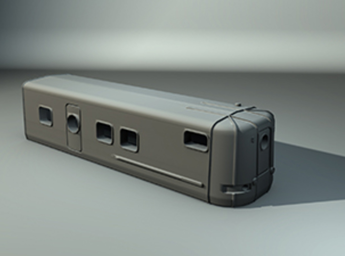 Talgo Wagon Tail Z scale 3d printed