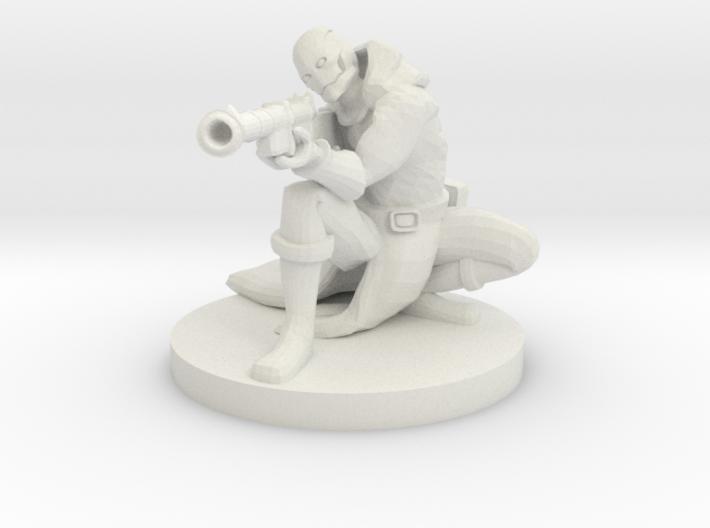 Warforged Gunslinger 3d printed