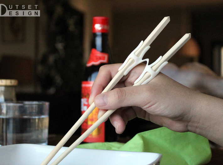 Universal Chopsticks Helper T2 3d printed