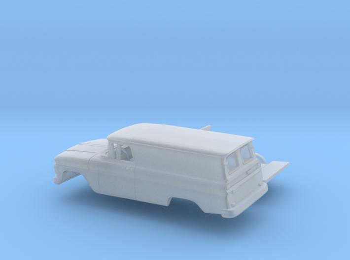 1/160 1962 Chevrolet Panel Van Kit 3d printed