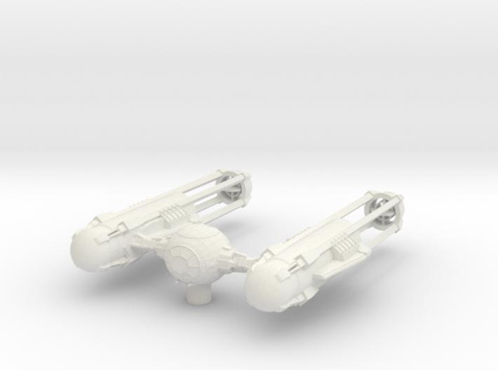 TYE-Wing - Dart Variation 3d printed