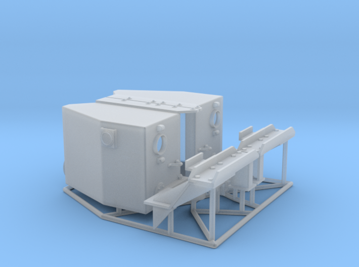 IDF M2 External Fueltanks (1:35) 3d printed IDF M2 external fueltanks