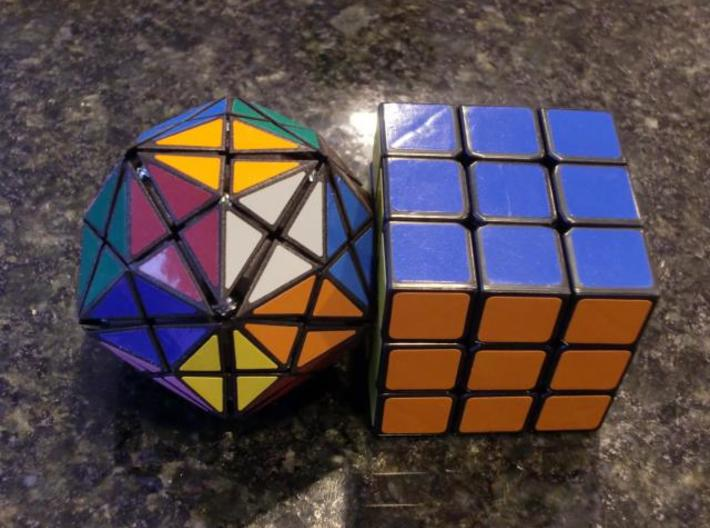 DRT Other Pieces 3d printed Compared to a standard 3x3