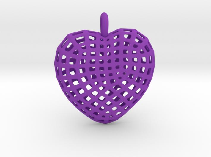 06 - Mesh Heart 3d printed
