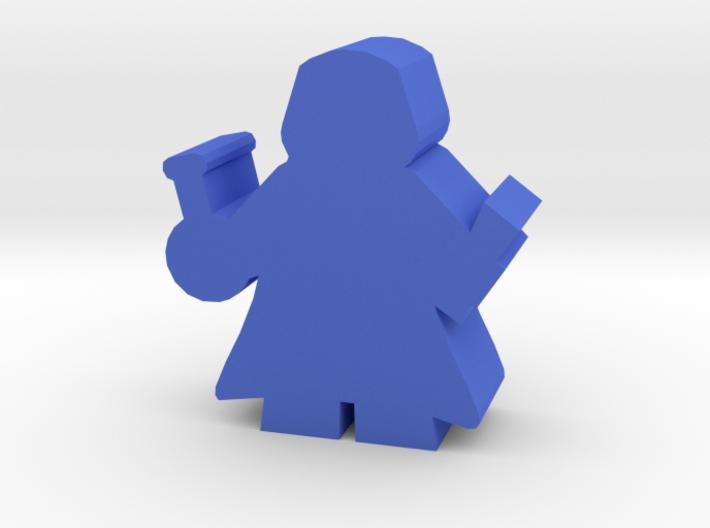 Game Piece, Alchemist, with cloak 3d printed