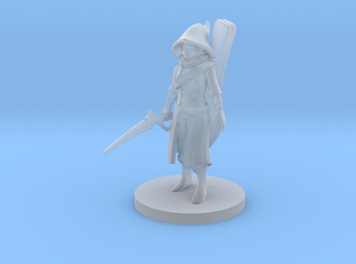 Warlock Bard 3d printed