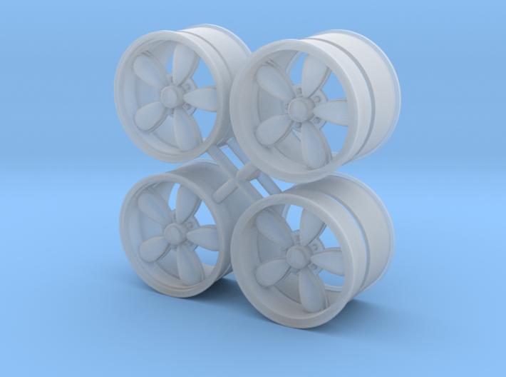 A/R 1/24 200S wheel set 15 inch 3d printed