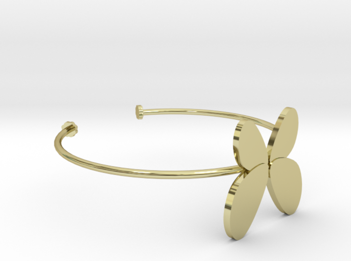 Butterfly Bangle - Full 3d printed