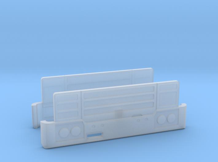 Robur-Kühlergrill LD3004 2erSet TT 1:120 3d printed