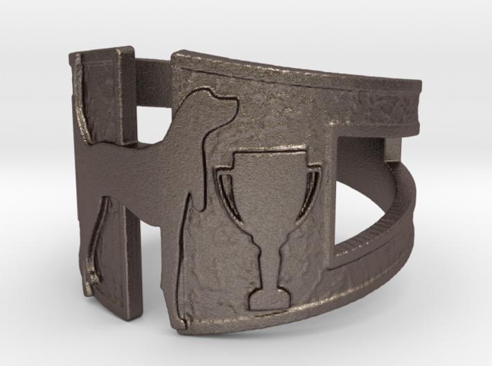 Hound Dog Trophy 3d printed