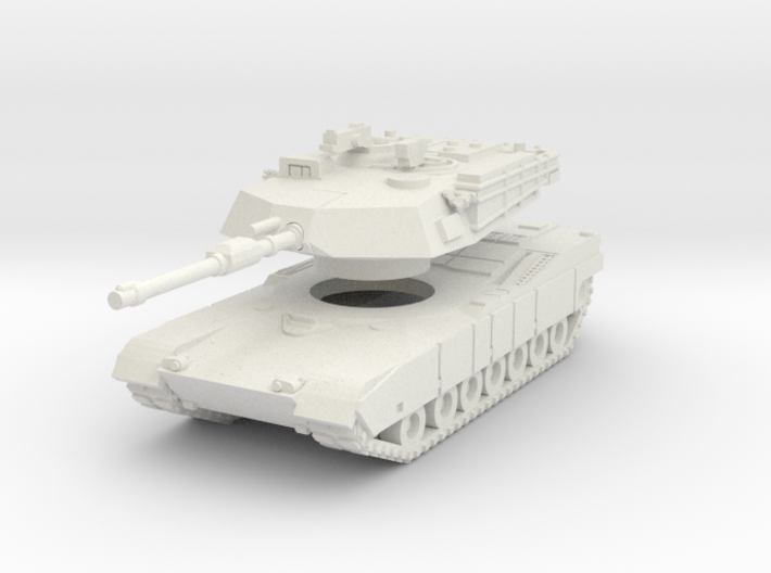 MG160-US01A.1 M1A1 MBT (no MGs) 3d printed