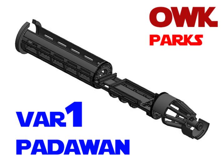 Korbanth / Parks OWK - Padawan All.In.One Var1 3d printed