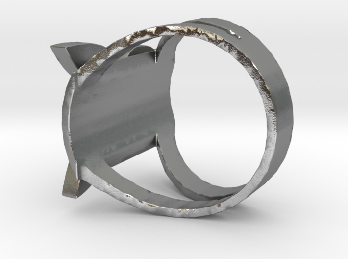 Playboy ring 3d printed