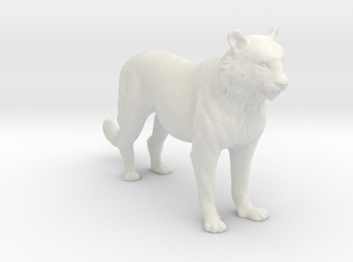 Printle Thing Tiger - 1/24 3d printed