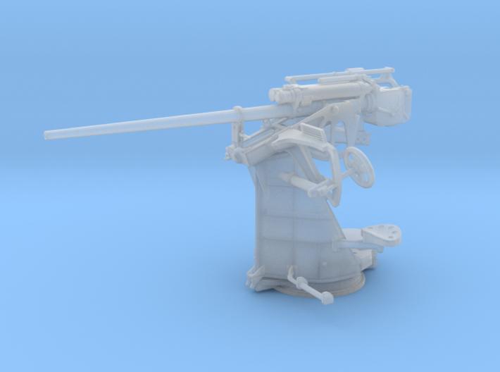 "1/45 DKM 3.7 cm/L83 (1.5"") SK C/30 Single Gun 3d printed"