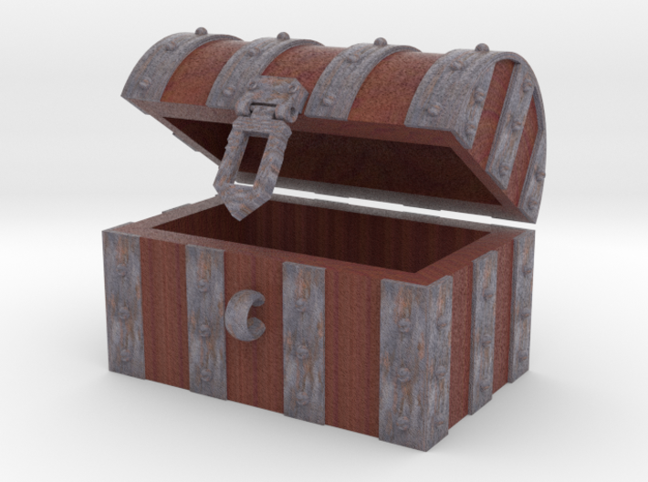 boOpGame Shop - The Chest 3d printed