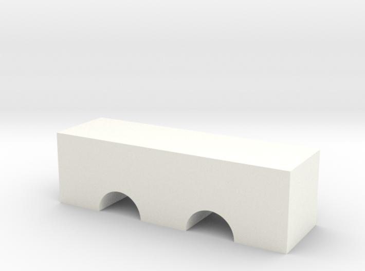 Double Arch Bridge Game Piece 3d printed