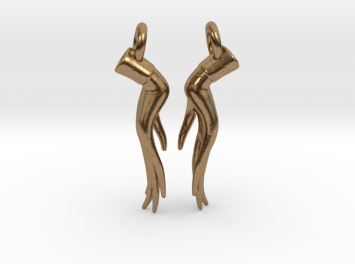Varada Mudra Earrings  3d printed te: these earrings require earring hooks, which are not included...