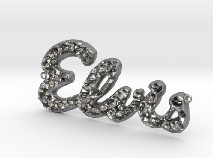 Elvis Necklace 3d printed