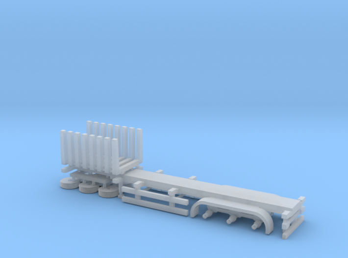 N Gauge Log Trailer 3d printed