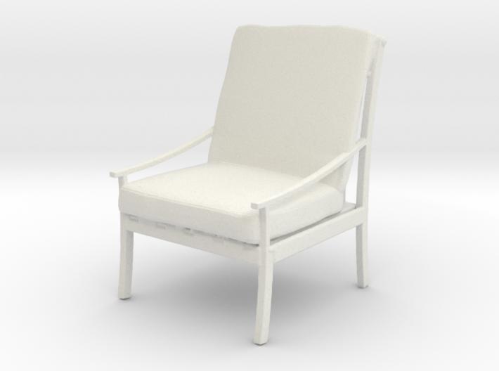 Printle Thing Armchair 05 - 1/24 3d printed