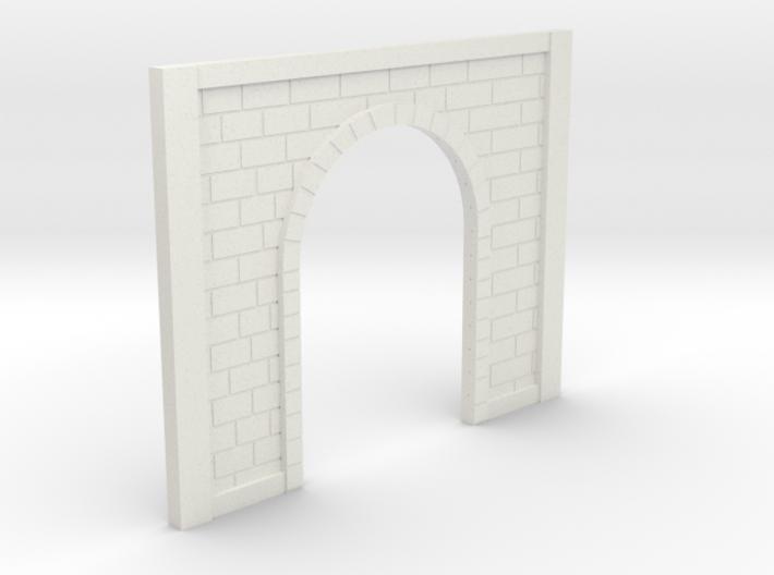 OO9 Tunnel Portal 3d printed