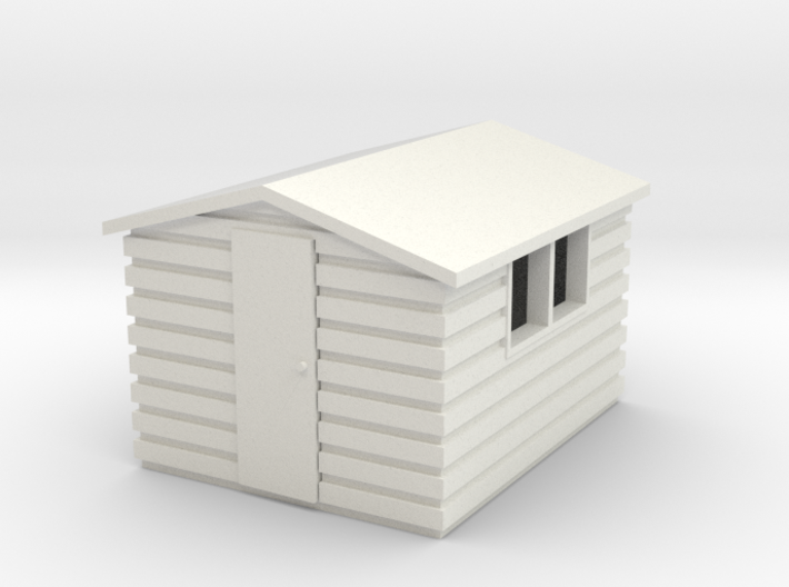 Garden Shed (Apex Roof) 3d printed