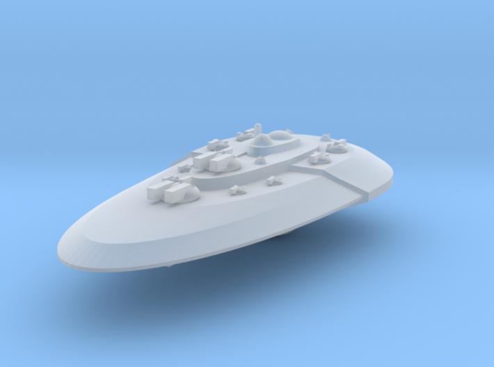 Ovali-Battleship 3d printed