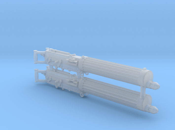 Two 1/30 Vickers Machine Guns 3d printed